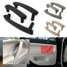 NEW BEST 3x Inner Door Pull Grab Handle With Trim Cover For 98-05 VW Passat B5