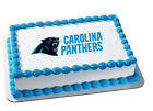 Carolina Panthers NFL football image cake topper frosting sheet #34192 on eBay
