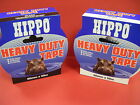 HIPPO HEAVY DUTY GAFFA TAPE 50MM X 50METRES BLACK OR WHITE