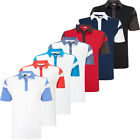 Callaway 2016 Opri-Dri Athletic Chev Blocked Mens Performance Golf Polo Shirt