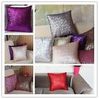 Square Sequins Decor Cushion Comfortable Pillow Cover Cases Throw Bed Sofa LJ
