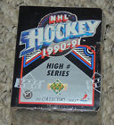 1990-1991 Upper Deck NHL Hockey High # Series Factory Sealed