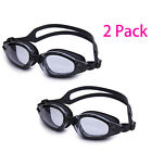 Pack of 2 Ruihe RH7100 Ultra Clear View Swim Goggle Men Women Unisex Teenager