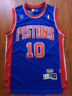 NBA Detroit Pistons Dennis Rodman Throwback Swingman Sewn Stitched Jersey NWT