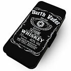Darth Vader Whiskey - Printed Faux Leather Flip Phone Cover Case