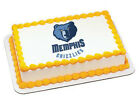 Memphis Grizzlies NBA basketball cake topper frosting image icing #3700 on eBay