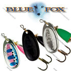 Blue Fox Vibrax Fishing Spinners, Size Nr0, 3g,   DIFFERENT COLORS