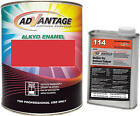 Advantage Alkyd Synthetic Enamel RAL 3018 Strawberry Red Equipment Paint