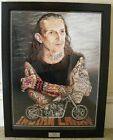 Indian Larry Portrait Bobbers Ltd Edition Print MOTORCYCLE ART by J. Guillemette