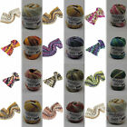 100g WOOLLY HUGS BANDY(GP 9,25€/100g) Color-Bändchengarn- Veronika Hug- Pro Lana