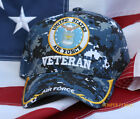 US AIR FORCE VETERAN HAT PIN UP DIGITAL CAMOUFLAGE PROMOTION RETIREMENT GIFT WOW