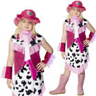 Kids Pink Rodeo Cowgirl – Pink Cowgirl Girls Book TV Movie Rodeo Dress Ranch