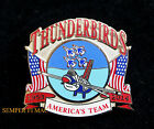 US AIR FORCE THUNDERBIRDS 2014 HAT LAPEL PIN UP DAVIS MONTHA AFB F16 AIRSHOW