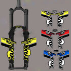 FOX32 Front fork sticker mountain bike Handmade reflective decal for MTB DH Race