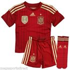 adidas Spain Home Kit Official  Boxed 2014-15 Kids Children Shirt, Shorts, Socks