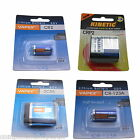 CRP2, CR-123A, CR2, 2CR5 High Power VapexTech Lithium Camera Batteries