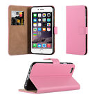 VAK Leather Book Wallet Cases For Apple iPhone + FREE Screen Protector &stylus