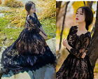 Dolly Cute Sweet Gothic Punk Lolita Princess Wedding Party Lace Onepiece Dress