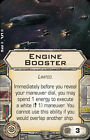 Star Wars X-Wing Miniatures Game- Upgrade Cards HUGE SHIP CARDS: Tantive IV etc