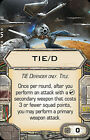 50% OFF! X-Wing Miniatures Game-Upgrade Cards MODIFICATIONS, TITLE & SYSTEM