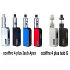 Authentic Cool Fire IV 4 Plus 70W Kit with iSub G Tank Isub Apex Isub A Tank