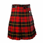New Mens Scottish Wallace Tartan 5 Yard Party Kilt Handmade various sizes