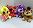 New 10'' FNAF Five Nights at Freddy's Plush doll Toy Bear/Foxy/Bonnie/chica