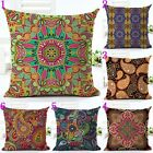 Bohemian Ethnic Style Geometric Cotton Linen Pillow Case Throw Cushion Cover
