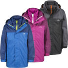 Trespass Maddox 3-in-1 Kids Waterproof Jacket Girls Boys Coat & Inner jacket