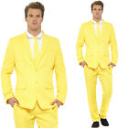 Yellow Standout Suit – Bright Stand Out Colourful Formal Fancy Dress Casual Fun