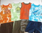 Faded Glory Toddler 2 pc Boy Shorts Outfit Set - Summer Pool - You Choose - Camo