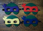 Teenage Mutant Ninja Turtles Mask Elasticated Felt Kids Party Fancy Dress