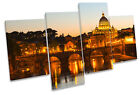 St Peters Basilica Rome Italy MULTI CANVAS WALL ART Picture Print