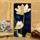 Ultra Thin Colorful Painted Flowers Pattern PC Hard Case Cover For LG G Flex2