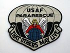 US AIR FORCE PARARESCUE THAT OTHERS MAY LIVE PATCH JUMPERS PIN UP PARACHUTIST