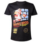 NEW OFFICIAL Nintendo Super Mario Bros Retro Mens T-Shirt Tee Top For Men