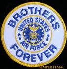 BROTHERS FOREVER US AIR FORCE USAF HAT PATCH AFB ENLISTED OFFICER PILOT AIRCREW