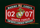 MOS 0207 AIR INTELLIGENCE OFFICER HAT PATCH US MARINES PIN UP VETERAN GIFT MAW