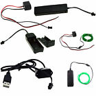3V/12V USB/Sound Activated Controller For LED El Wire Glow Flexible Neon Decor