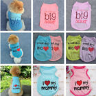 Внешний вид - 2019 Various Pet Puppy Small Dog Cat Apparel Summer Clothes Pattern Vest T-shirt