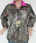 WOMENS MOSSY OAK CAMO HOT PINK CAMOUFLAGE CAMP JACKET WINTER COAT THERMALITE NEWCoats & Jackets - 177868