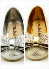 Girl's Wedding Party Shoes Snake Skin Metallic Silver or Gold Color Toddler size