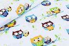 100% COTTON FITTED SHEET BABY COTBED PRINTED 160x70 140x70 120x60 90x40 NURSERY