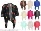 New Ladies Womens Shawl Shrug Top Chiffon Kimono Cardigan Plus Size 8-22