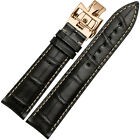 19-22mm Genuine Calf Leather Watch Band Strap For Vacheron Constantin Watch