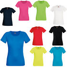Fruit of the Loom Lady Fit Performance T-Shirt Wicking Running Gym - SS270