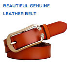 Top quality Fashion Beautiful diamond Women's Genuine Leather female waistband