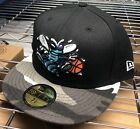 Charlotte Hornets New Era NBA Hardwood Classics Camo Bill 59FIFTY Fitted Cap NWT on eBay
