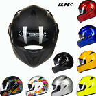 New 5 Colors DOT Dual Visor Flip Up Motorcycle Helmet Full Face Motocross M L XL