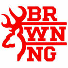 2x BROWNING Vinyl Decal Sticker. 3 sizes. 10 colours
